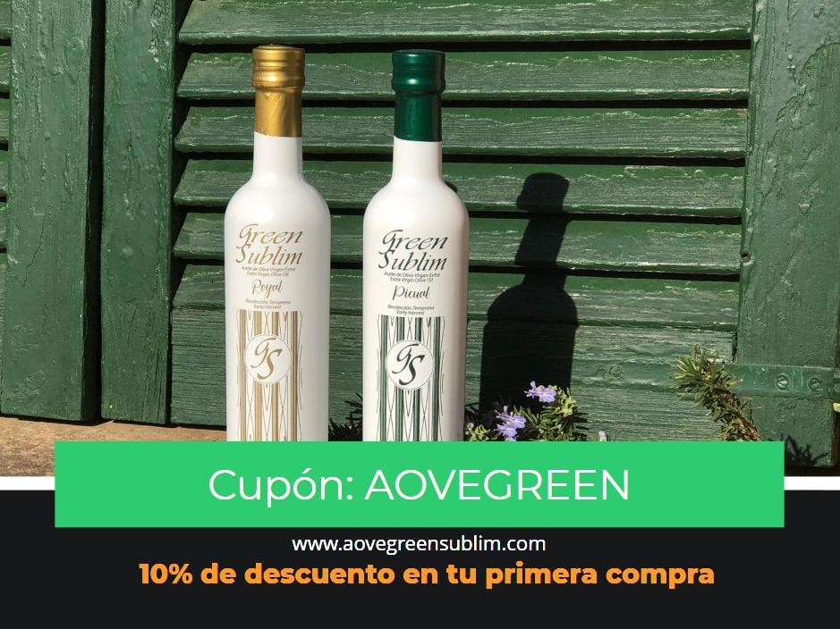 ofertas descuento aceite de oliva virgen extra de Jaén
