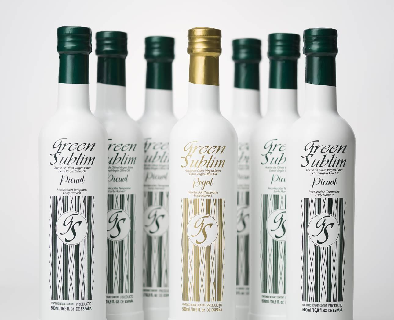 aceites de oliva virgen extra de Jaén